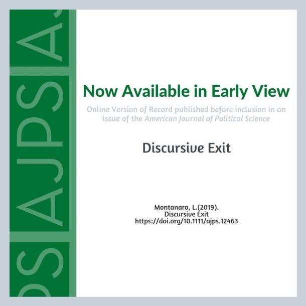 Discursive Exit