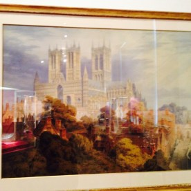 Lincoln Cathedral from the South West, Frederick MacKenzie, 1845