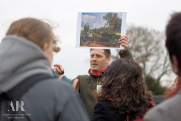 Talking about Constable's Flatford Mill painting