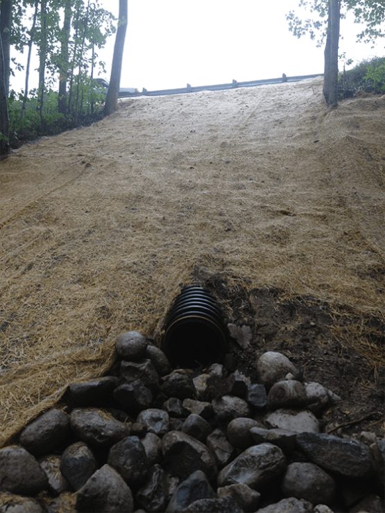 Fixing washout on County Rd Pic 8