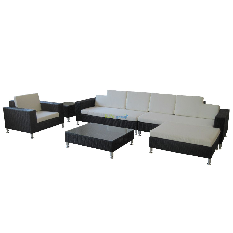 lounge gartenmoebel polyrattan. Black Bedroom Furniture Sets. Home Design Ideas