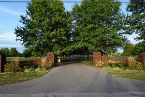 Abundant Life Memorial Gardens Entry Way
