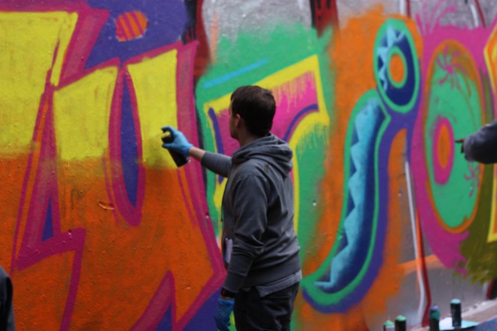 Graffiti lessons - Andy Seize 3