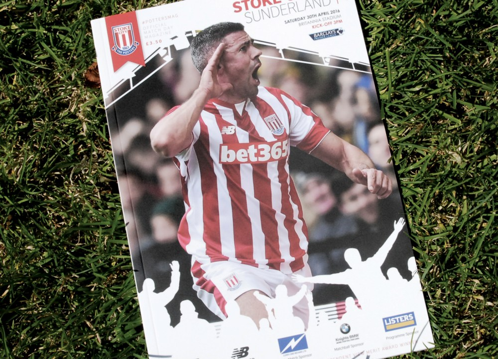 Stoke City Match Day Programme