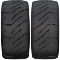 Federal FZ201 Semi Slick 195/50/15 Soft Compound