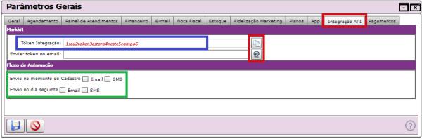Integração do Markkit com o Sistema Belle Software
