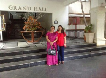 Our (Mother-Daughter) holiday at Leonia. We must do this again! :)