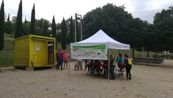 Aquest diumenge, 14 d'octubre, a la 'Jugatecambiental' del parc del Torrent de la Font i del Turó de l'Enric, es realitzaran diverses activitats per gaudir del parc i de la natura en família