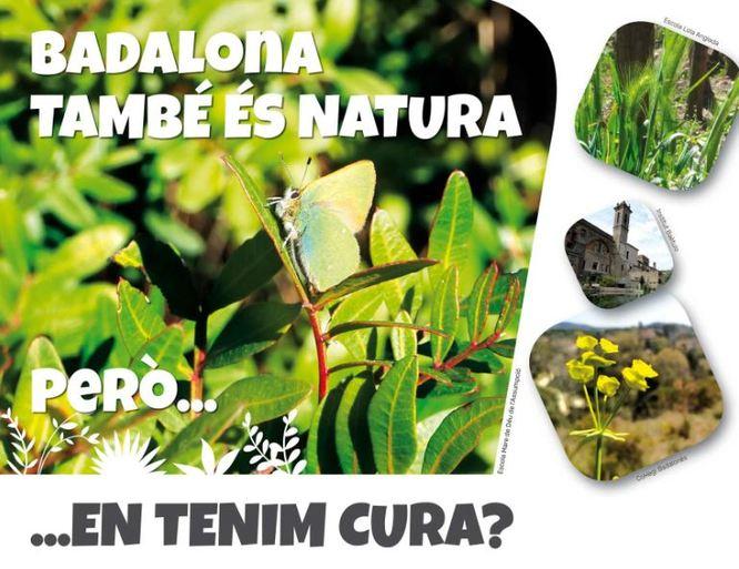 """Les escoles verdes de Badalona celebren el Dia Internacional del Medi Ambient amb la presentació de la campanya """"Badalona també és natura! Però... en tenim cura?"""""""