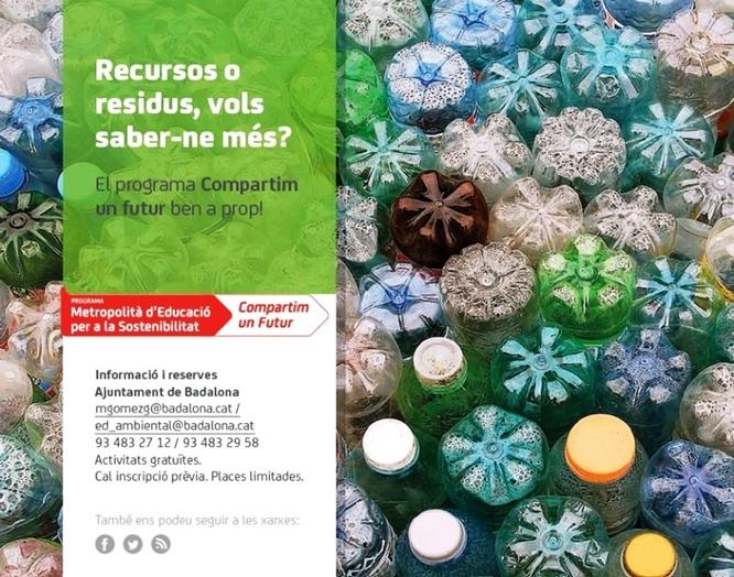Badalona organitza diverses activitats amb motiu de la Setmana Europea de la Prevenció de Residus