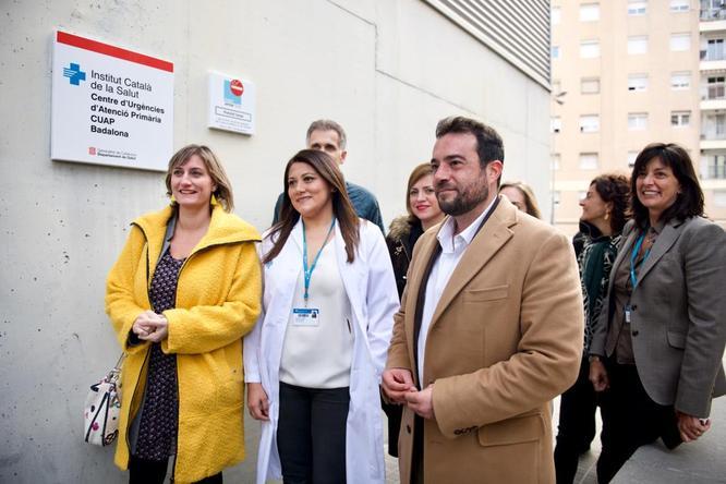 La consellera de Salut inaugura el nou Centre d'Urgències d'Atenció Primària Badalona