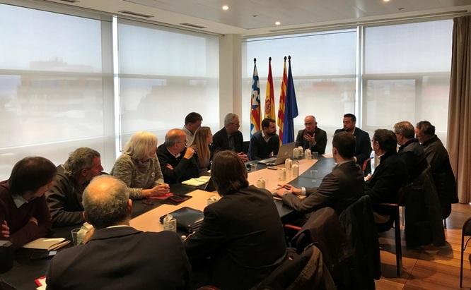 La Generalitat presenta els treballs inicials del PDU de l'autopista C-31 al Govern i a tots els grups municipals de Badalona
