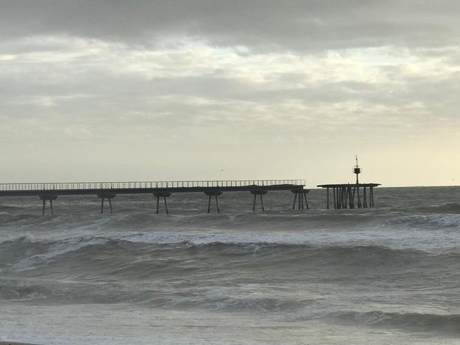 El temporal Glòria va causar a Badalona danys per valor de més de 7 milions d'euros