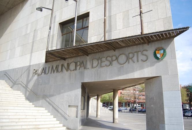 L'Ajuntament de Badalona crea un nou banc d'aliments per a l'emergència del Covid-19 ubicat al Palau Municipal d'Esports