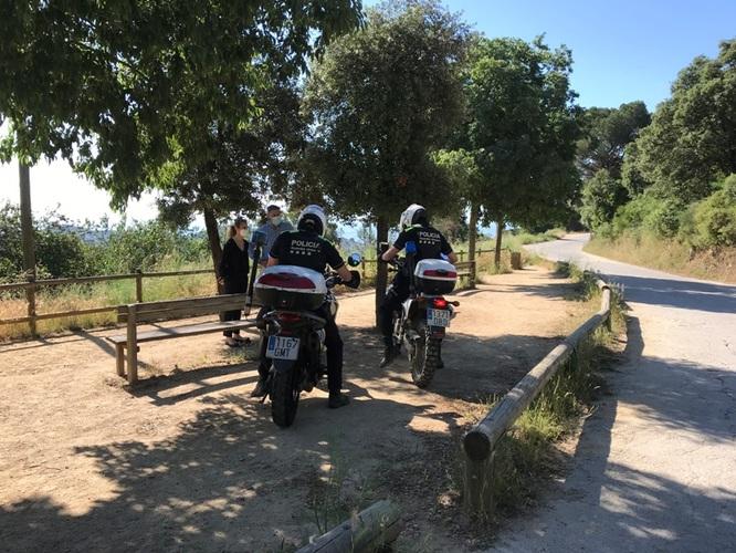 Badalona recupera després de cinc anys el servei de vigilància de la Serralada de Marina