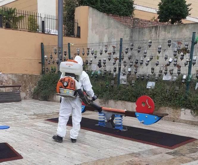 Badalona reobre les àrees de joc i parcs infantils de la ciutat un cop s'ha entrat en la fase 3 del desconfinament