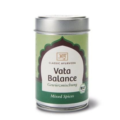 vata balance začimbe