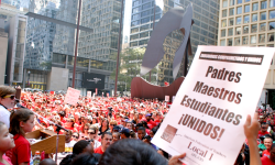 Photo of Daley Plaza on Labor Day 2012