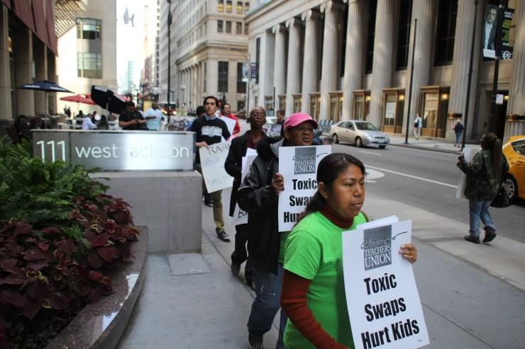 Protesting Toxic Swaps