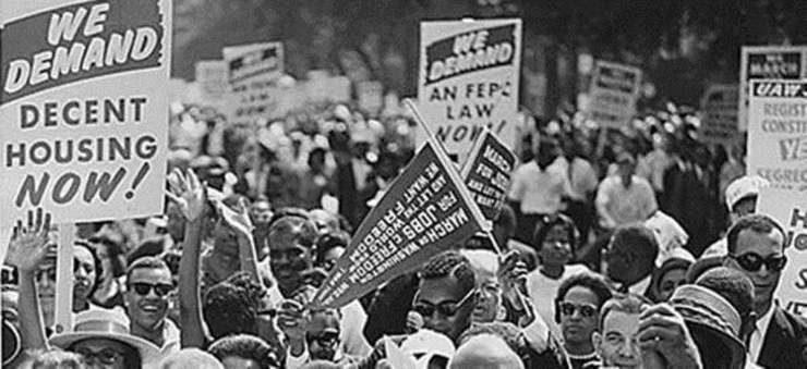 Historic Los Angeles Housing Protest Against Redline Lending and Community Segregation