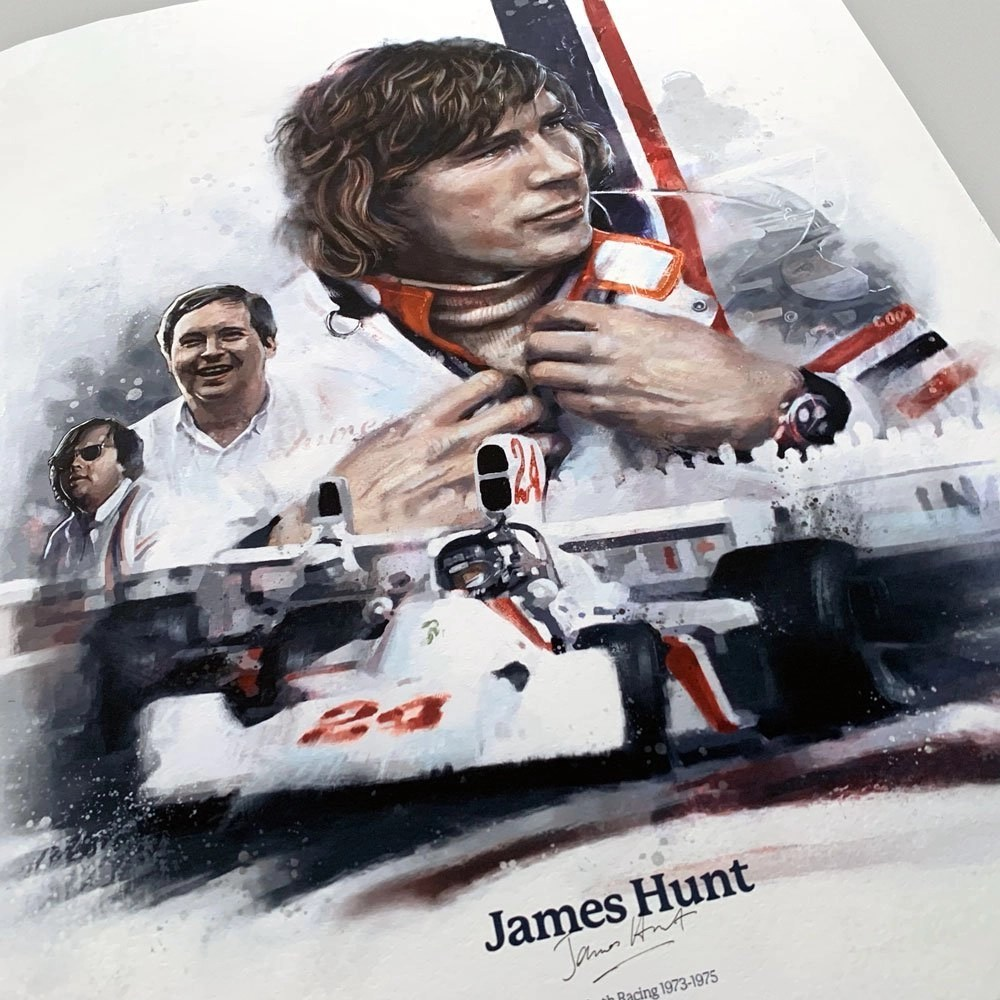 Image of motorsports painting