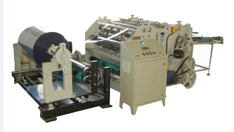 PVC Reel To Sheet Cutting Machine