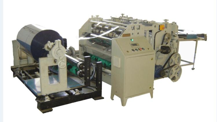 PVC Reel To Sheet Cutting Machine