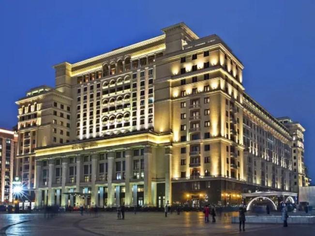 Гостиница Four Seasons: рейтинг 5-звездочных отелей в городе Москва