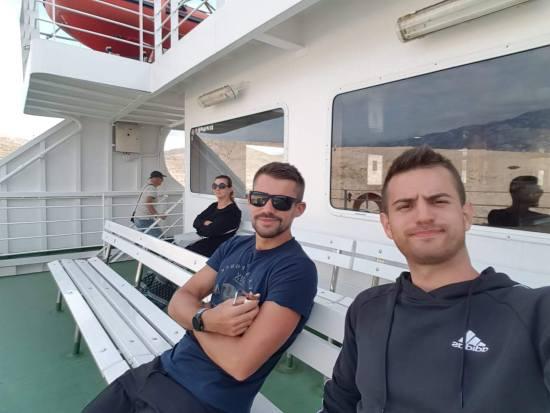 Luka Radetić i Dinko Solić na 13. Continental Rab Island Trailu