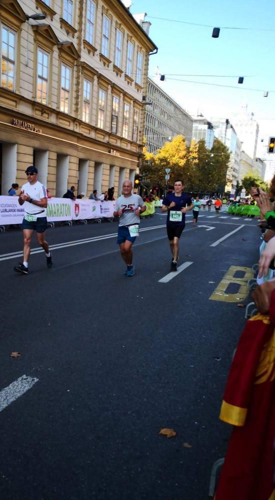 24. Ljubljanski maraton - Matija Zadravec 33.