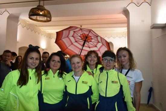 1. Čakovečki noćni cener - ženski dio ekipe AK Varaždin