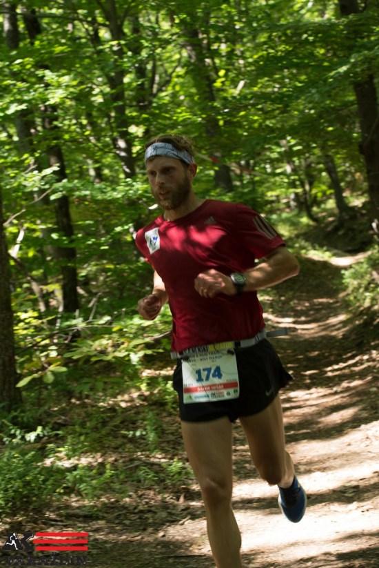 Damir Hršak, pobjednik na 14 km - 1. brdski maraton Ivanec - Novi Marof
