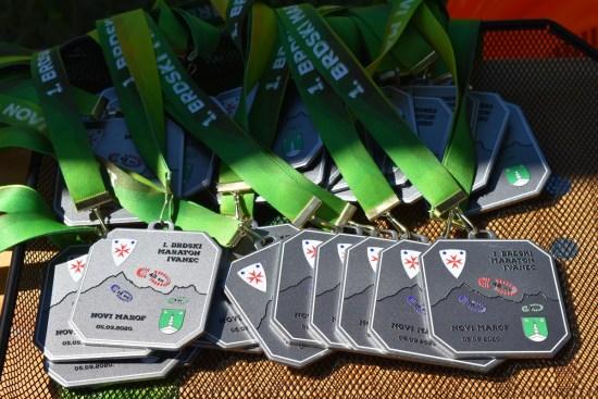 Medalje 1. brdskog maratona Ivanec - Novi Marof
