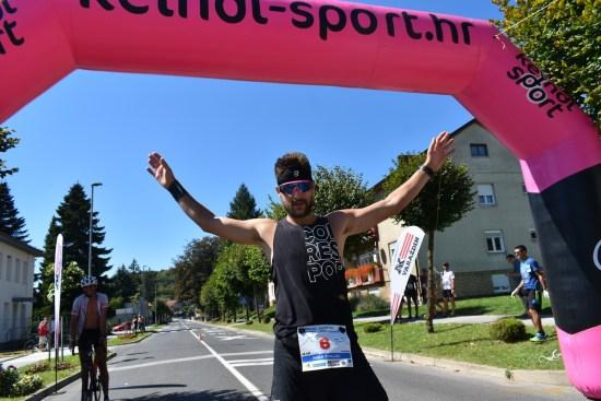 Pavle Kruljac, pobjednik - 1. brdski maraton Ivanec - Novi Marof