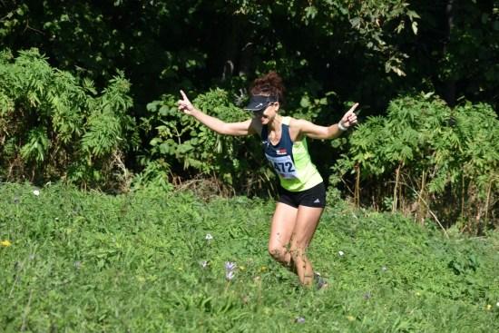 Alenka Horvat na PH u planinskom trčanju u Mrkoplju