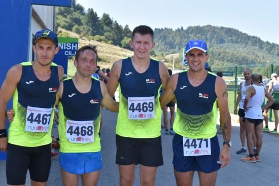 Brončana ekipa na PH u planinskom trčanju u Mrkoplju