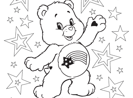 coloring pages of bears # 6