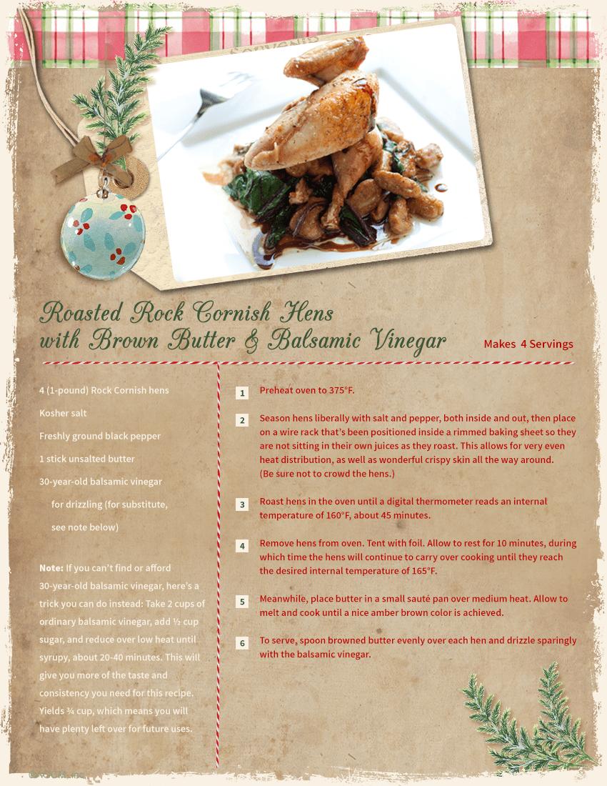 Christmas Recipe Card Ideas Blue Mountain
