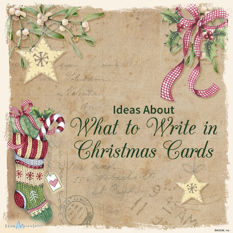 Christmas Card Sayings Quotes Amp Wishes Blue Mountain