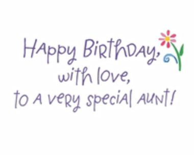 Birthday Ecards For Aunt Blue Mountain