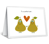 A Perfect Pair Anniversary Printable Cards