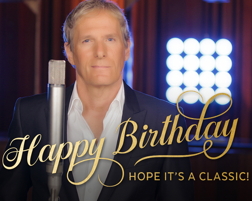 Happy Birthday Song By Michael Bolton Ecard Personalize American Greetings