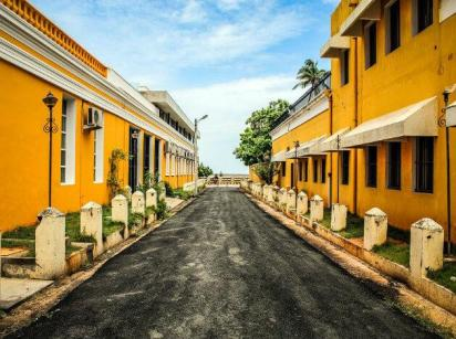 Lane in Puducherry