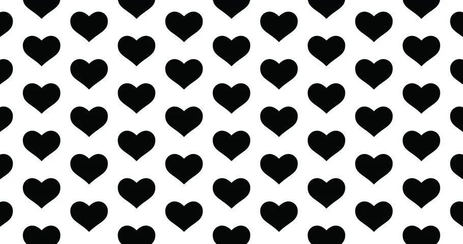 Black And White Hearts Background Stock Footage Video 100 Royalty Free 1028053406 Shutterstock