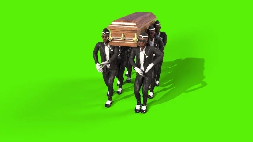 Coffin Dance Meme 3d Model Animated Pixelboom