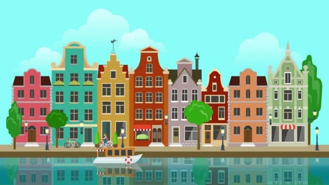 Flat Cartoon Multicolored Colorful Historic Stock Footage Video (100%  Royalty-free) 13064090   Shutterstock