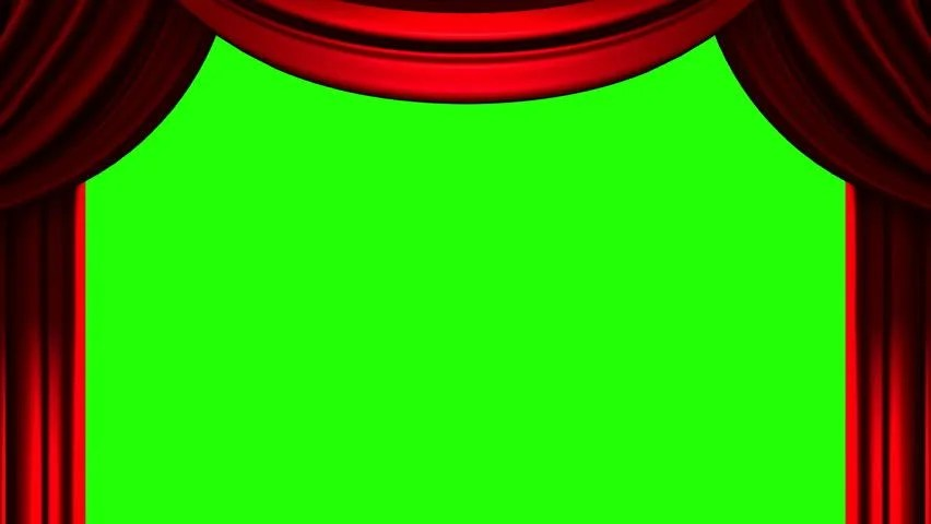 red stage curtain on green stock footage video 100 royalty free 13965140 shutterstock