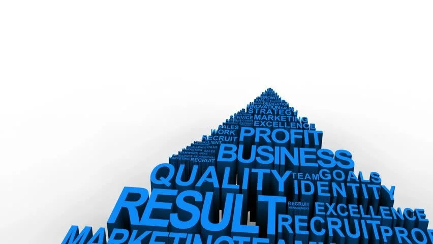 Blue Business Related Terms Forming Stock Footage Video 100 Royalty Free 1991905 Shutterstock