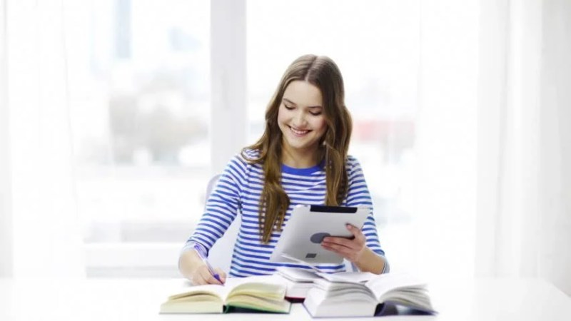 Education, Technology and Home Concept Stock Footage Video (100%  Royalty-free) 6825799 | Shutterstock
