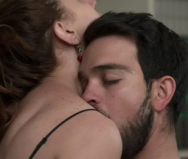 Passionate Sex Between Lovers Kisses Looks Passion